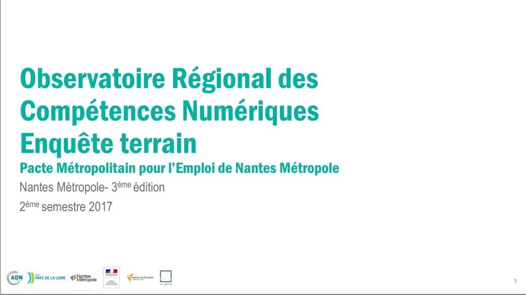 Enquête ORCN 2017S2 Nantes Métropole