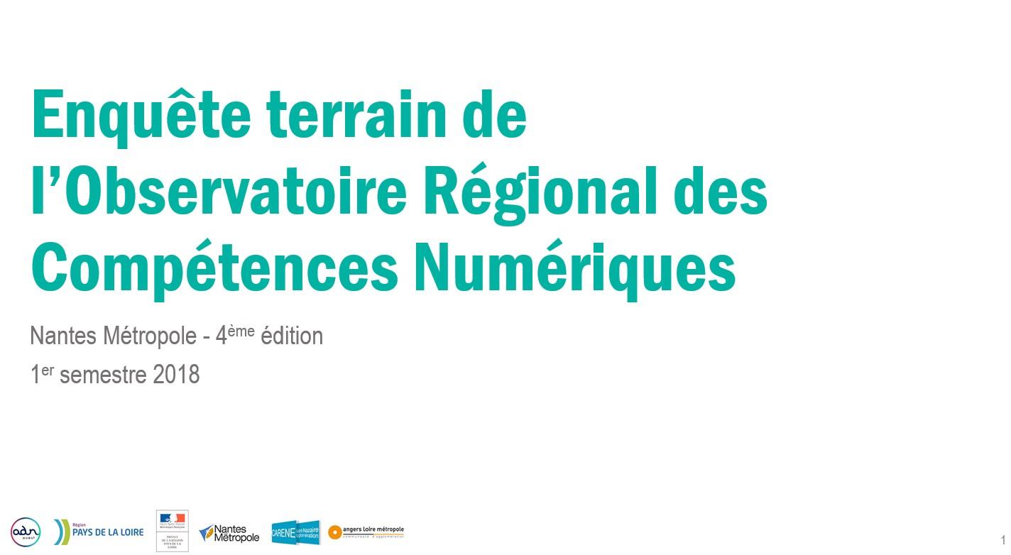 Enquête ORCN 2018-S1 Nantes Métropole